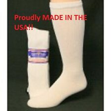 12 Pair of White Over The Calf Diabetic Socks Size 9-11 Diabetic Socks