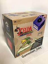 CONSOLE GAMECUBE ZELDA WIND WAKER PAK LIMITED EDITION - PURPLE - NUOVA NEW