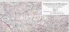 █ 3 LANDKARTEN ZU  ▒  RÖMERSTRASSEN DER RHEINPROVINZ █▒ JOSEF HAGEN 1923 █▒ P100