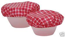 Kitchen Craft conjunto de siete Plástico Comida Bowl cubre kcfoodbowl