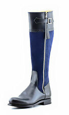 Mux Leather Eventing/Dressage Horse Riding Tall Leather Boot UK 5-12