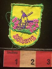 Vtg SOLVANG California Patch ~ Dutch Windmill  69Y1