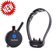 E-Collar The Boss 1 Mile Big Dog Trainer for dogs 20 lbs. and larger ET-800TS