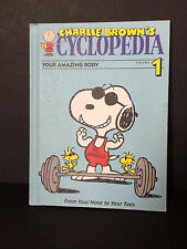 Peanuts Charlie Brown Encyclopedia - Your Amazing Body Vol. 1 (1990 Hardcover)