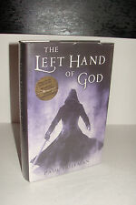 The Left Hand of God by Paul Hoffman SIGNED/LND/DATED UK 1st/1st Hardcover