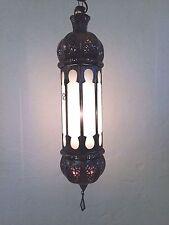 Lustre Marocain fer forgé lampe lanterne plafonnier oriental 50 cm ! applique