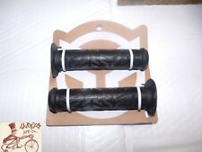 FEDERAL BATTLE FLANGE BLACK BMX BICYCLE SCOOTER FIXED GRIPS