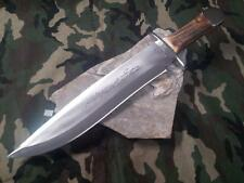 "Colt George Washington Bowie Knife 17 1/4"" Stag Stainless Plain Edge Hunter 853"