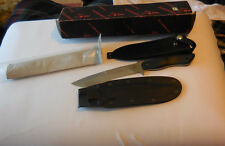 New in the Box Blackjack Mamba 7-L Knife Effingham Illinois USA with sheath MINT
