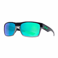 Oakley OO9189-04 Mens Twoface Rectangular Sunglasses Jade Iridium