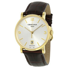 Certina DS Caimano Gold-tone Stainless Steel Ladies Watch C017.410.36.037.00