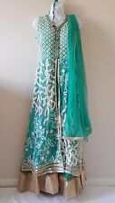 USA SELLER NWT Readymade Anarkali Salwar Kameez Indian Wedding Bollywood 36 38