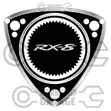 ROTARY STICKERS for RX2 RX3 RX4 RX7 RX8 R100 GT RE - ROTARY RX-8  #06