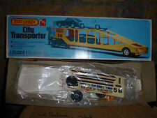 AMT City Transporter Haulaway 1/25 Vintage Model Truck Trailer Super Rare