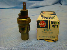 NOS 73 74 LeMans Firebird GTO Grand Prix P8 Temperature Switch Coolant 6490898