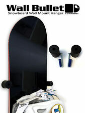 Wall Bullet Snowboard Wall Mount Hanger Display Storage Rack Grab & Go