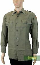 GERMAN ARMY BUNDESWEHR COMBAT SHIRT in OLIVE GREEN SIZE 39/40 = 40 INCH CHEST