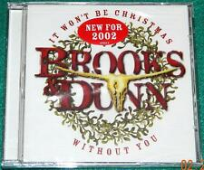 BROOKS & DUNN, It Won't Be Christmas Without You, CD, NEW