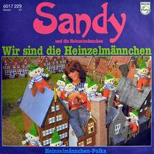 """7"""" SANDY Wir sind die Heinzelmännchen (Wij Zijn De Lachkabouters) ANITA WEIJERS"""