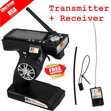 Flysky FS-GT3B 2.4G 3CH Transmitter + Receiver Radio Control for RC Car Boat OBY
