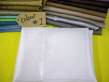 TWO TONE SHEER SATIN Quality Fabric Curtain Wedding Home Material Cheap Fabric