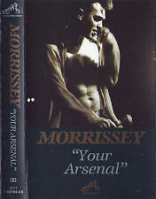 MORRISSEY YOUR ARSENAL CASSETTE ALBUM Indie Rock Alternative Rock  SMITHS 1992