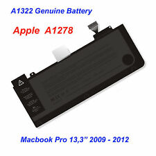 "Batteria Originale Apple A1322 Macbook Pro 13,3"" A1278 2009 - 2012 unibody Nuova"