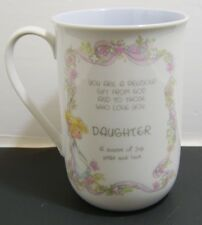 Genuine Precious Moments Daughter Mug - A Source of Joy, Pride, Love