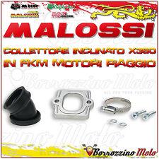 MALOSSI 2013802 COLLETTORE INCLINATO X360 Ø 30-35 PIAGGIO ZIP Fast Rider 50 2T