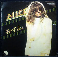 "7""-Single ALICE - per elisa / bael, nm"