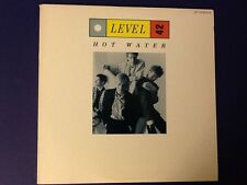 LEVEL 42~hot water POLYDOR 1986 all ORIGINAL 3 song EP~ (LP) Nm- / (SLEEVE) Ex++