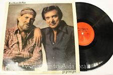 "NELSON, WILLIE AND RAY PRICE SAN ANTONIO ROSE (1980) LP 12"" (G)"