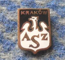 AZS KRAKOW POLAND VOLLEYBALL ROWING  BASKETBALL 1970's SMALL PIN BADGE