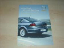 34806) Opel Astra Sedan Polen Prospekt 200?