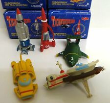 THUNDERBIRDS : THUNDERBIRD 1,2,3,4 & 5 SMALL MODELS MADE BY YUJIN