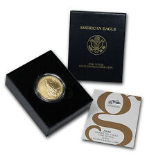 2008-W 1 oz Burnished Gold American Eagle Coin - Box and Certificate- SKU #37948