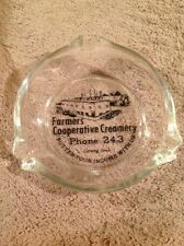 ashtray corning iowa co-op creamery picture of plant ia advertising