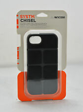 Incase SYSTM Chisel Hard Shell Case Snap Cover fo iPhone SE iPhone 5s Black/Gray