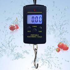 40kg 10g LCD Digital Light Fish Hanging Luggage Weight Electronic Hook Scale LN