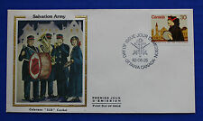 "Canada (954) 1982 Salvation Army Colorano ""Silk"" FDC"