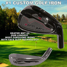 ROCKET BMT III TAYLOR FIT MADE FACE SLOT SPEED POCKET SLIDER (8) IRON HEAD SET