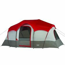 Wenzel Blue Ridge 14x9 Feet 2 Room, Seven Person Tent (Red) New and Ships FAST!