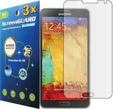 3x Clear LCD Screen Protector Guard Film for Samsung Galaxy Note 3 SM-N900 N9000