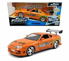 Jada Toys Fast and Furious 7 1:24 BRIAN'S TOYOTA SUPRA Diecast Car Model