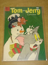 TOM AND JERRY COMICS #127 FN- (5.5) DELL COMICS CHRISTMAS FEBRUARY 1955