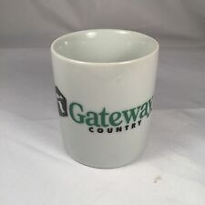 VINTAGE GATEWAY COUNTRY COMPUTERS COFFEE CUP SILICON VALLEY MUG