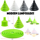 Modern Colourful Silicone Ceiling Pendant Light Lamp Shades Lights Lampshades UK