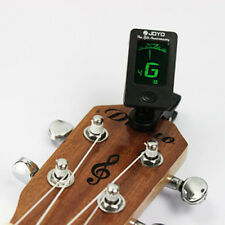 Cool LCD Electronic Digital Guitar Chromatic Violin Ukulele Clip Tuner Uesful