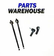 4 Pc Kit 2 Inner & 2 Outer Tie Rod End For Focus From July 00-06 2Yr Warranty