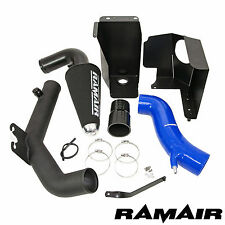 Ramair Cone Air Filter Intake Induction Blue Silicone Hose Crossover Pipe ST180